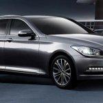 2014 Hyundai Genesis launched front quarter