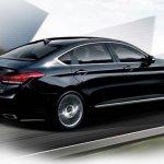 2014 Hyundai Genesis launched rear quarter