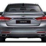 2014 Hyundai Genesis launched rear