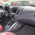 2014 Hyundai Veloster Turbo R-Spec interiors