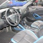 2014 Hyundai Veloster dashboard