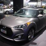 2014 Hyundai Veloster front quarter