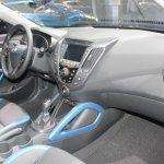 2014 Hyundai Veloster interiors