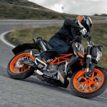 2014 KTM Duke 390 all black