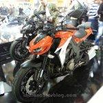 2014 Kawasaki Z1000 front three quarters