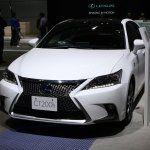 2014 Lexus CT200h at 2013 Tokyo Motor Show