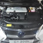 2014 Lexus CT200h facelift Guangzhou Motor Show engine