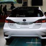 2014 Lexus CT200h rear at 2013 Tokyo Motor Show