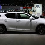 2014 Lexus CT200h side view at 2013 Tokyo Motor Show