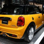 2014 MINI rear three quarter