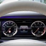 2014 Mercedes-Benz S65 AMG instrument cluster
