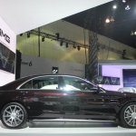 2014 Mercedes S65 AMG at LA Auto Show 2013 side view
