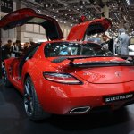 2014 Mercedes SLS AMG Final Edition doors open