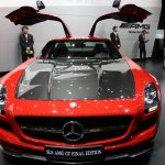 2014 Mercedes SLS AMG Final Edition front doors open