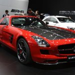 2014 Mercedes SLS AMG Final Edition front three quarter