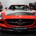 2014 Mercedes SLS AMG Final Edition front