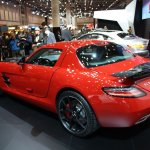 2014 Mercedes SLS AMG Final Edition rear quarter