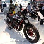 2014 Moto Guzzi V7 Racer front three quarters