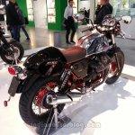 2014 Moto Guzzi V7 Racer rear three quarters