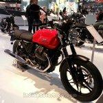 2014 Moto Guzzi V7 Stone front three quarters