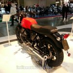 2014 Moto Guzzi V7 Stone rear three quarters left