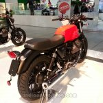 2014 Moto Guzzi V7 Stone rear three quarters