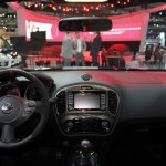 2014 Nissan Juke Nismo RS dashboard from 2013 LA Auto Show
