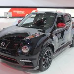 2014 Nissan Juke Nismo RS front three quarters from 2013 LA Auto Show