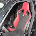 2014 Nissan Juke Nismo RS sport seat from 2013 LA Auto Show