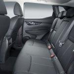 2014 Nissan Qashqai rear seat
