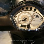 2014 Piaggio Liberty 3V display