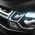 2014 Renault Duster Facelift headlight