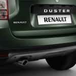 2014 Renault Duster Facelift rear bumper