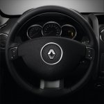 2014 Renault Duster Facelift steering with buttons