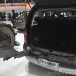 2014 Skoda Yeti L with boot mounted spare wheel boot