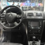 2014 Skoda Yeti L with boot mounted spare wheel interiors