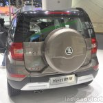 2014 Skoda Yeti L with boot mounted spare wheel rear