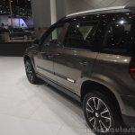 2014 Skoda Yeti L with boot mounted spare wheel wheelbase