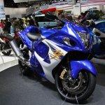 2014 Suzuki Hayabusa front three quarter Tokyo Motor Show