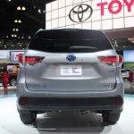 2014 Toyota Highlander Hybrid rear