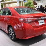 2014 Toyota Sai rear quarter Tokyo Motor Show