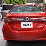 2014 Toyota Sai rear