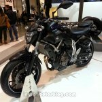 2014 Yamaha MT-07 front three quarters