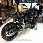 2014 Yamaha MT-07 rear three quarters
