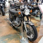 2014 Yamaha SR400 front three quarters