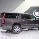 2015 Cadillac Escalade rear quarter