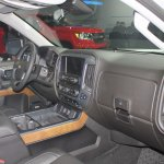 2015 Chevrolet Silverado dashboard passenger side