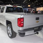 2015 Chevrolet Silverado rear three quarters left