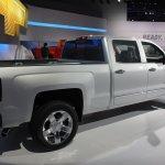 2015 Chevrolet Silverado rear three quarters