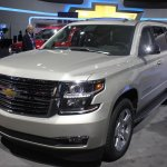2015 Chevrolet Suburban front three quarters